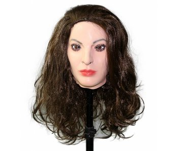 Female mask (brown hair)