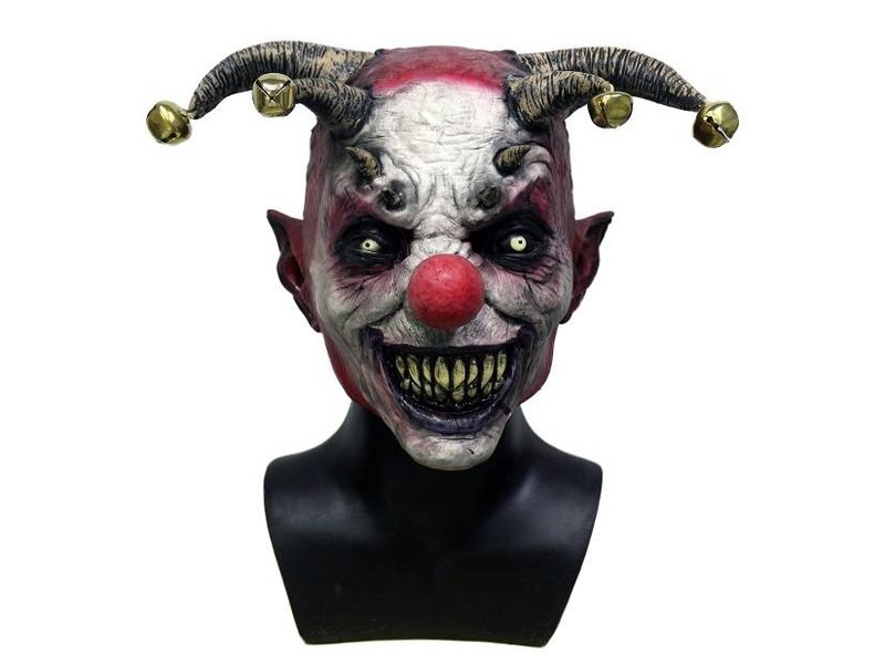 Horror Clown Mask Jingle Hell Mistermask Nl