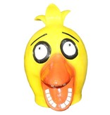 Angry birds masker (yellow)