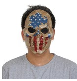 Jason hockey mask 'american flag'