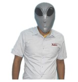 Green alien mask Deluxe