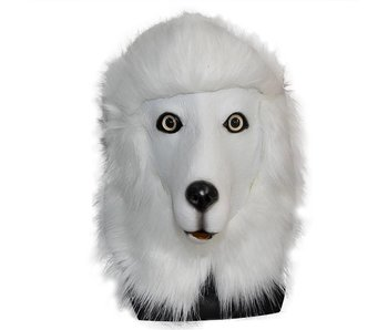 Dog mask Deluxe  'Poodle'