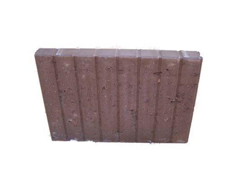 Blokjesband Bruin