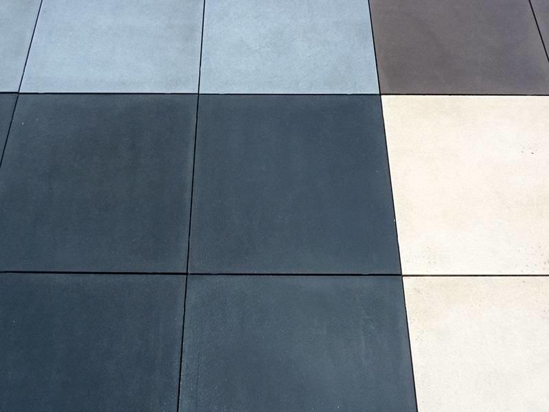 Furora Antraciet gecoat 60x60x4 cm