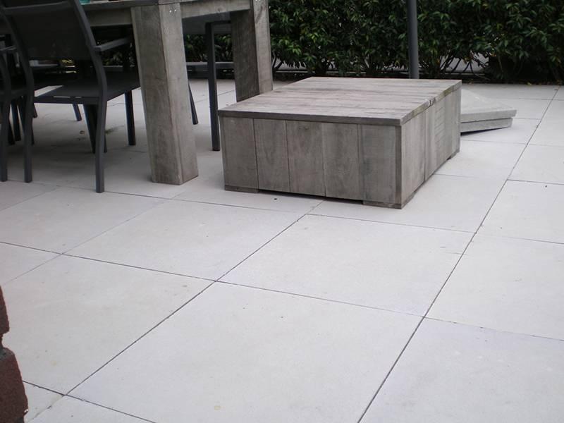 Grijze Tegels Tuin : Furora premium grijs 60x60 reijmer sierbestrating