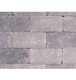 Keiformaat Grijs/Zwart Getrommeld 21X10,5x7 cm