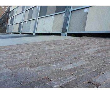 Waalformaat Kastanje bruin Getrommeld 20x5x7 cm