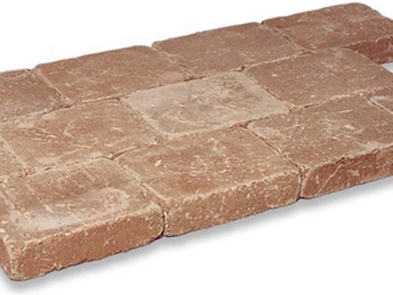 Kobbelstone Terracotta Getrommeld