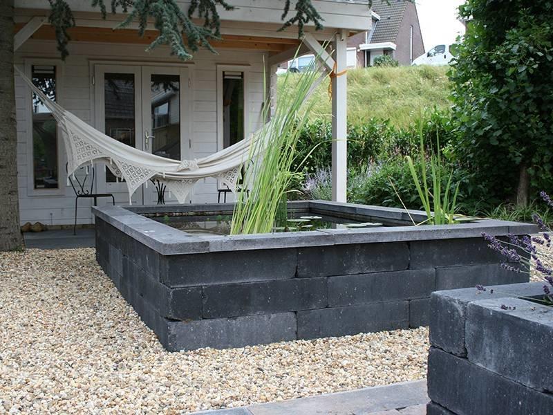 Stenen Muur Voortuin : Muurelementen voor in tuin reijmer sierbestrating