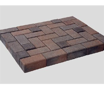 Betonklinker Bruin/Zwart 21x10,5x8 cm