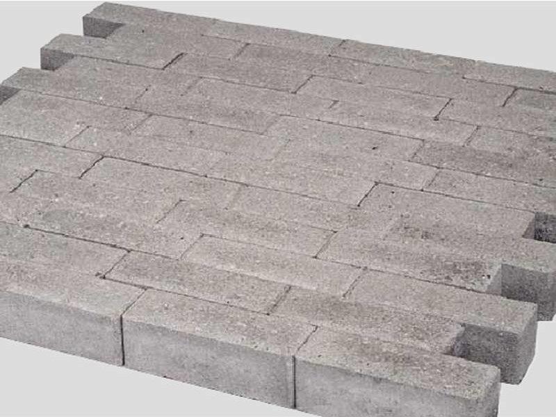 Dikformaat Grijs Facet 21x7x7 cm