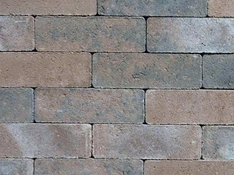 Dikformaat Bruin/zwart strak 20X6,6x6,6 cm