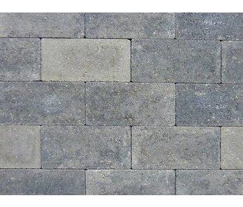 Keiformaat Grijs/zwart strak 21X10,5x7 cm