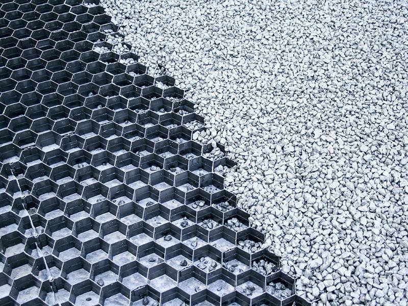 Split/Grindplaat Zwart 1 m2 x3.5 cm