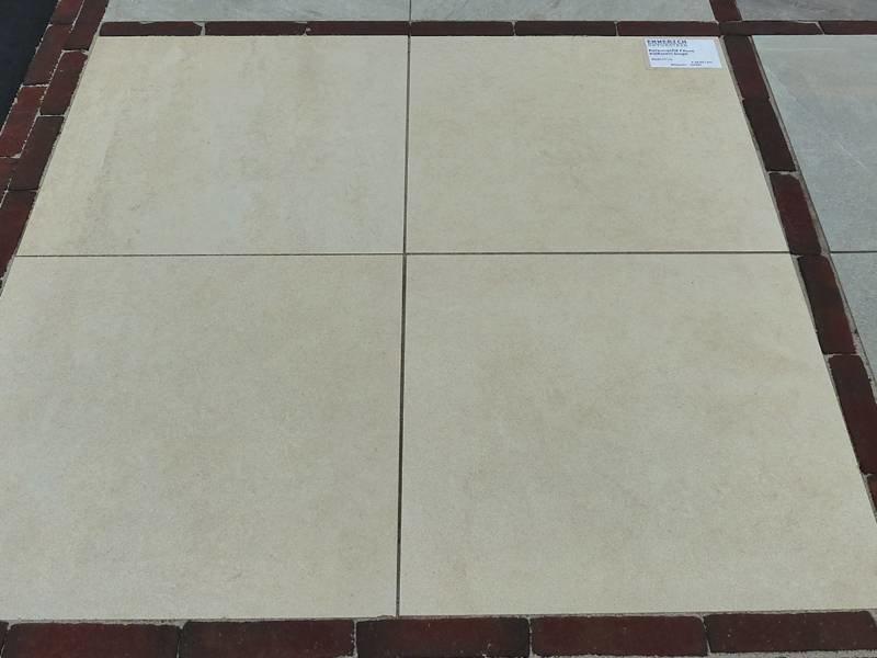 Keramische Terrastegel Torino beige 60x60x2 cm