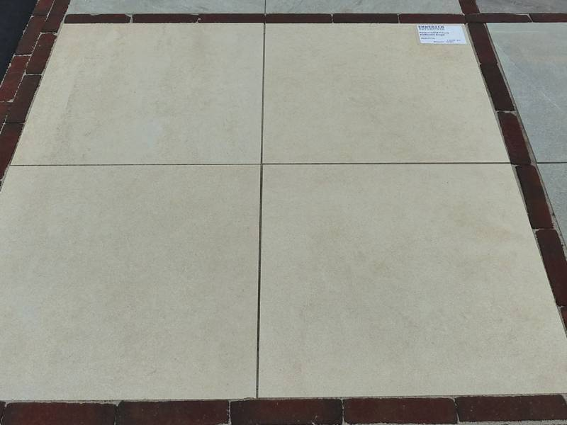 Keramische terrastegel torino beige cm