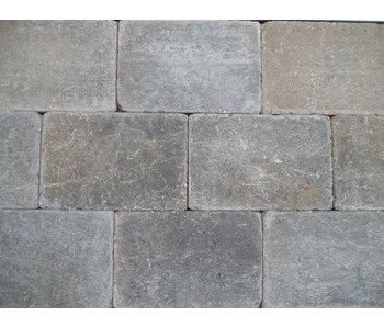Trommelsteen Bruin/Zwart 20x30x6 cm
