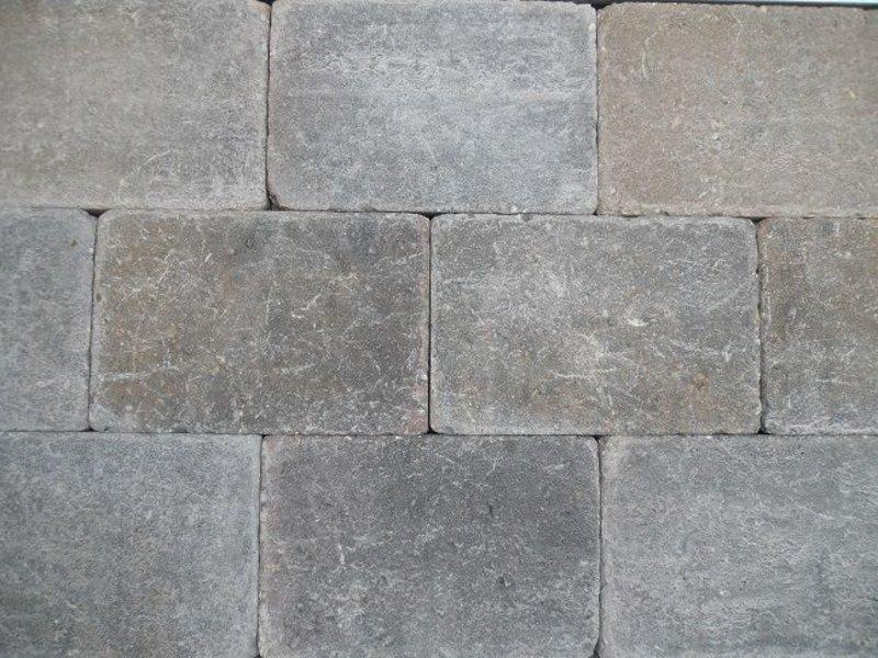 Trommelsteen Bruin/Zwart 20x30x6