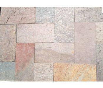 216 m2 Kwartsiet multicolor binnenvloer 30x60x1,2cm