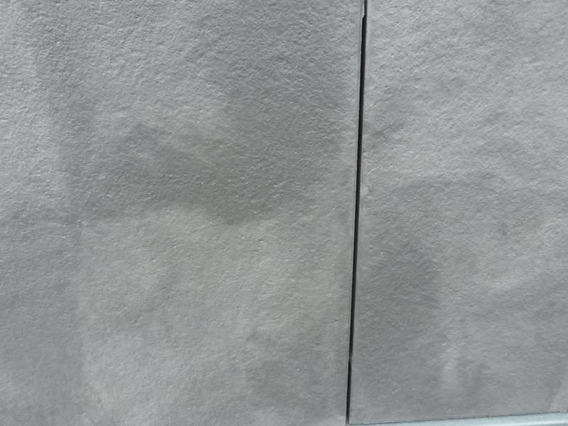 Exclusieve terrastegel dubbel gecoat 60x60x4 Antraciet/zilver genuanceerd