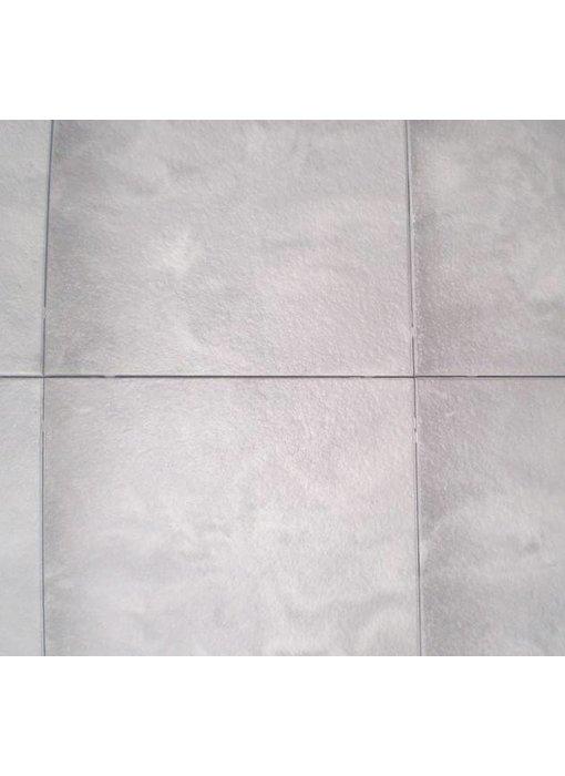 Exclusieve terrastegel 60x60x4 Zilver/grijs genuanceerd