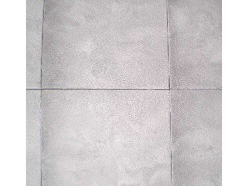 Exclusieve terrastegel dubbel gecoat 60x60x4 Zilver/grijs