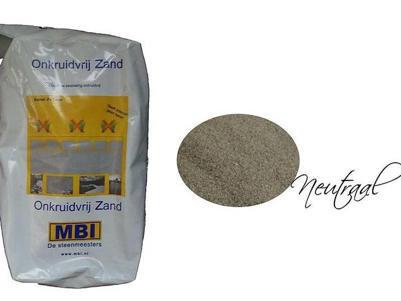 Onkruidvrij voegzand Neutraal 20 kg MBI