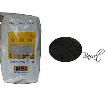 Onkruidvrij voegzand Basalt 20 kg MBI
