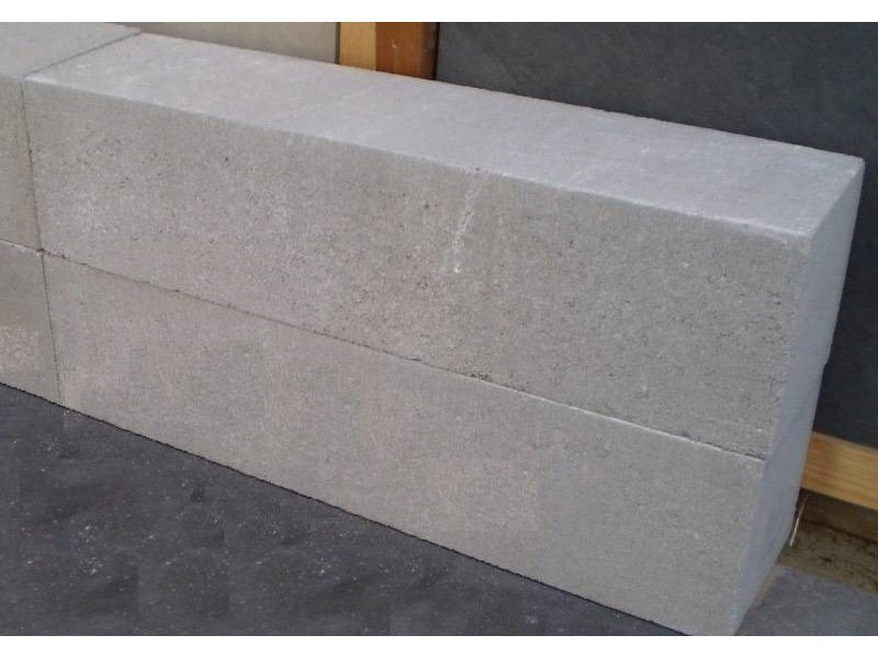 Wallblock new grijs 60x15x15