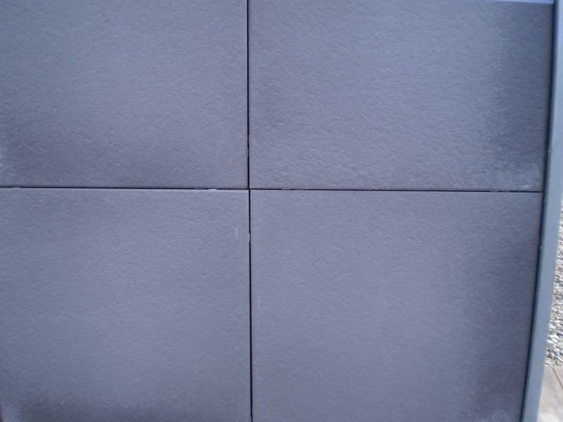 Gecoate Tegel Prisma Zilver 60x60x4