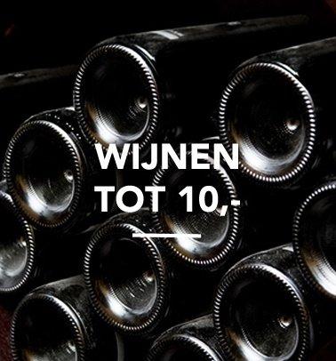 Wijnen tot 10,-