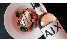 Wijnspijs met Aix rosé