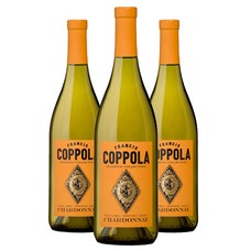 Francis Ford Coppola Chardonnay Diamond Collection 2016 3 Flessen