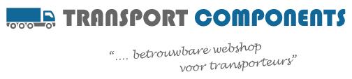 Transportcomponents shop voor transportondernemers.