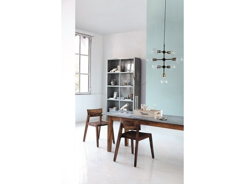 house doctor molecular hanging lamp grey metal living. Black Bedroom Furniture Sets. Home Design Ideas