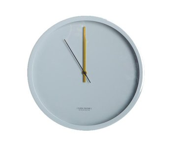 House Doctor Clock Couture grey