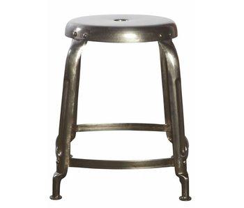 House Doctor Define stool metal grey