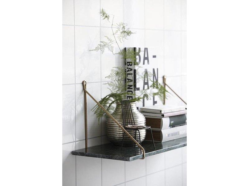 house doctor bortsett vegghylle gr nn marmor living and co. Black Bedroom Furniture Sets. Home Design Ideas