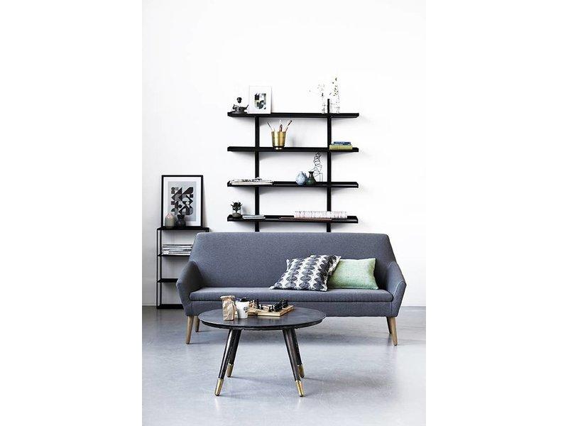 house doctor mod le rack b armoire de fer noir living. Black Bedroom Furniture Sets. Home Design Ideas
