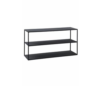 House Doctor Model C rack cabinet iron black