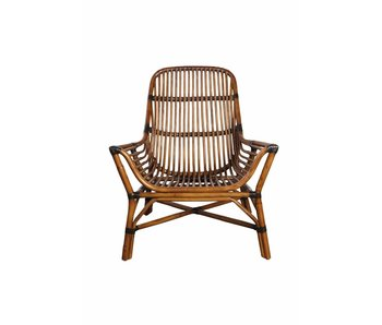 House Doctor Colony rattan lounge stol