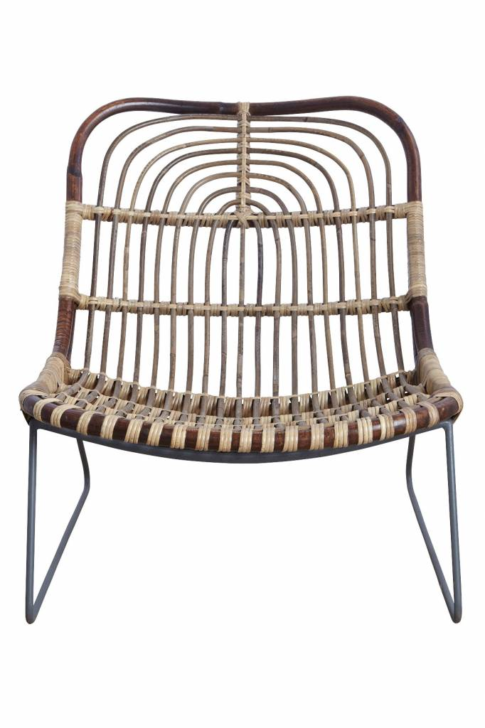 Lounge sessel rattan  House Doctor Kawa Rattan Lounge-Sessel - LIVING AND CO.
