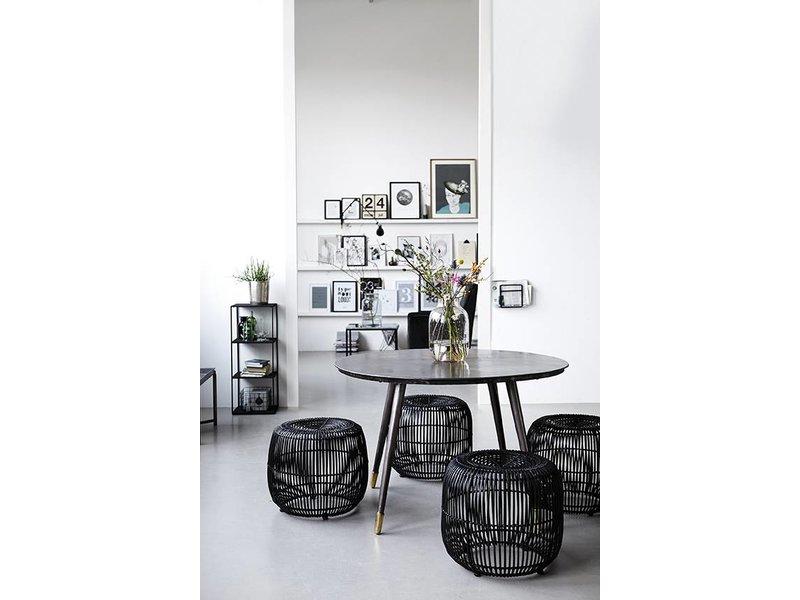 house doctor moderne rotting stol svart living and co. Black Bedroom Furniture Sets. Home Design Ideas