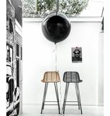 HK-Living Naturlig rattan bar stol