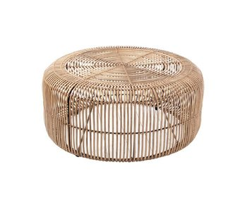 HK-Living Rotan coffee table natural
