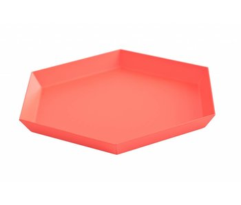 HAY Kaleido S tray red