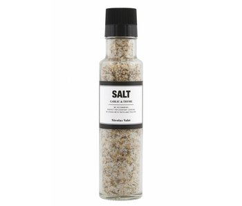 Nicolas Vahé Salt with garlic & thyme 300g