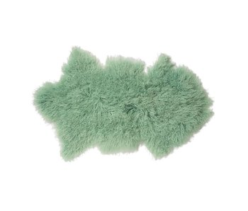 Bloomingville Sheepskin mint green 100% wool