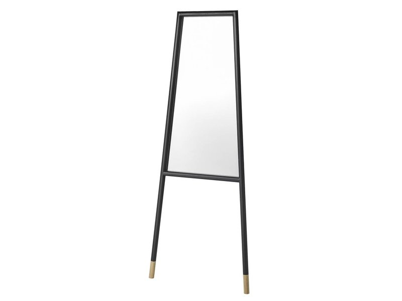 Bloomingville Standing mirror black wood