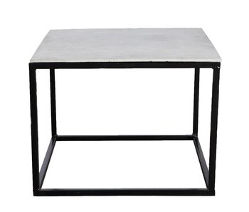 House Doctor Coffee table metal concrete